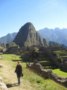 Me at Machu Picchu (all rights reserved)