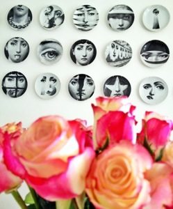 Flowers and Fornasetti